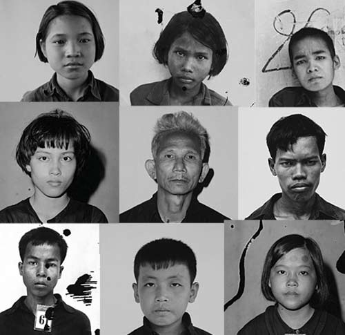 Inmate photographs from www.tuolsleng.com