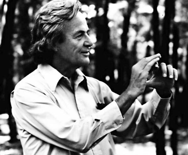 Richard Feynman, courtesy of Fermilab