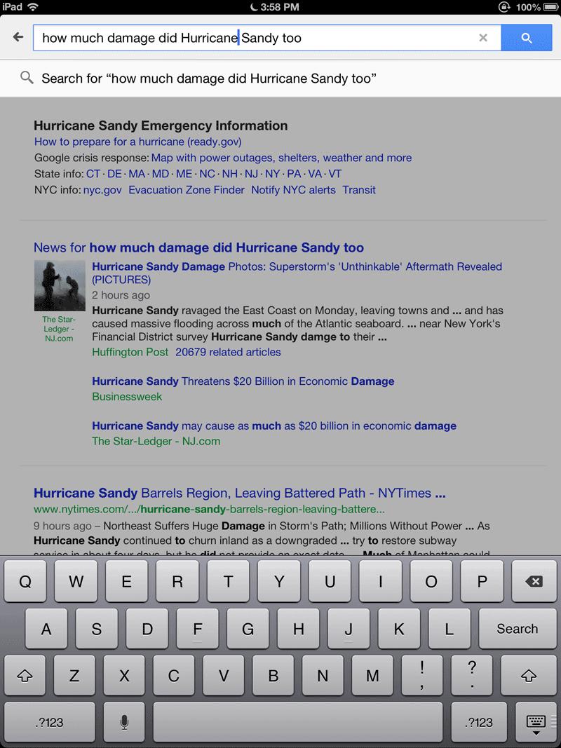 google-search-sandy